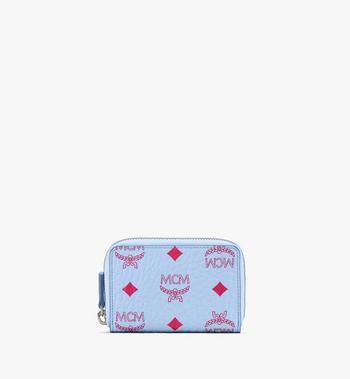 MCM Zip Around Card Wallet in Visetos Alternate View