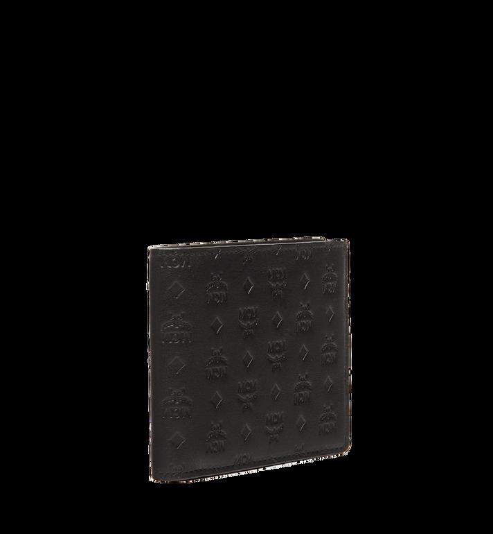 MCM Sigmund Bifold Wallet in Monogram Leather Black MXS6AIE14BK001 Alternate View 2