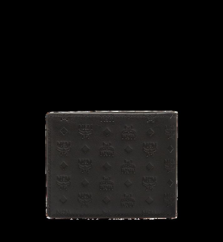 MCM Sigmund Bifold Wallet in Monogram Leather Black MXS6AIE14BK001 Alternate View 3