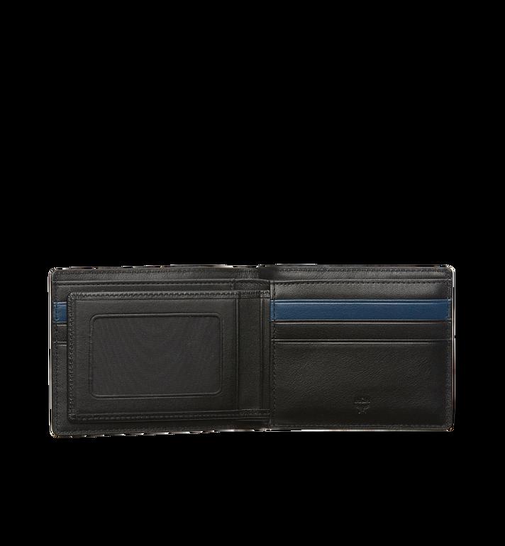 MCM Sigmund Bifold Wallet in Monogram Leather Black MXS6AIE14BK001 Alternate View 4