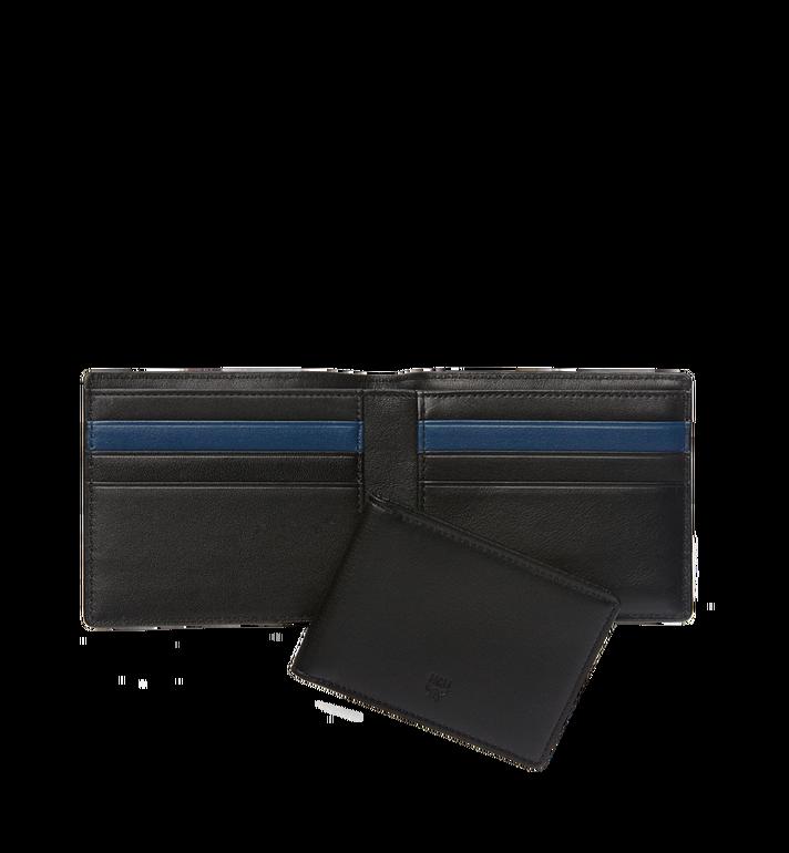 MCM Sigmund Bifold Wallet in Monogram Leather Black MXS6AIE14BK001 Alternate View 5
