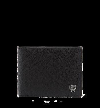 MCM Ottomar gefaltete Brieftasche aus gemasertem Leder Alternate View