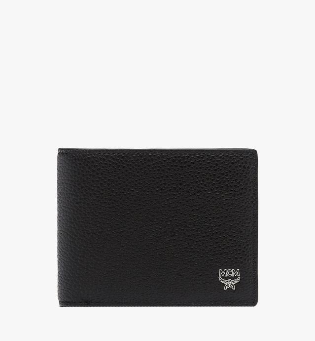 Ottomar gefaltete Brieftasche aus gemasertem Leder