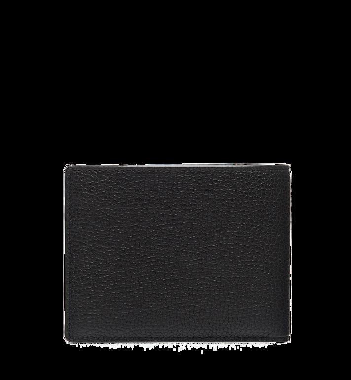MCM Ottomar gefaltete Brieftasche aus gemasertem Leder MXS7SOT06BK001 AlternateView3