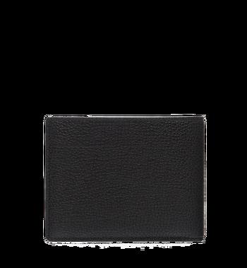 MCM Ottomar gefaltete Brieftasche aus gemasertem Leder Alternate View 3
