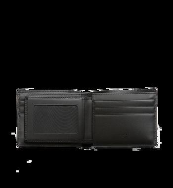 MCM Ottomar gefaltete Brieftasche aus gemasertem Leder Alternate View 4