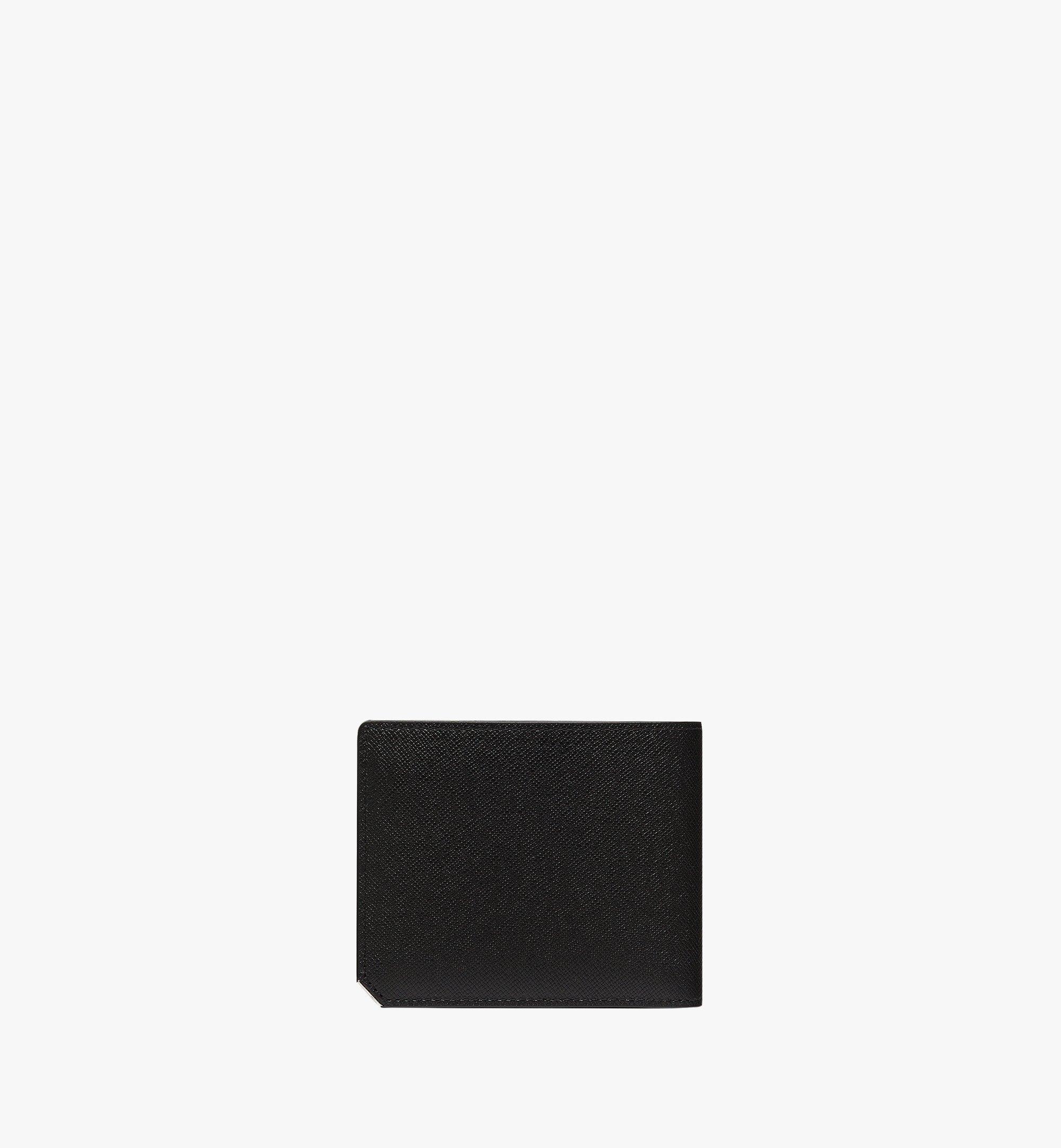 MCM New Bric 經典印花皮革兩折式錢包附卡夾 Black MXS8ALL42BK001 更多視圖 2