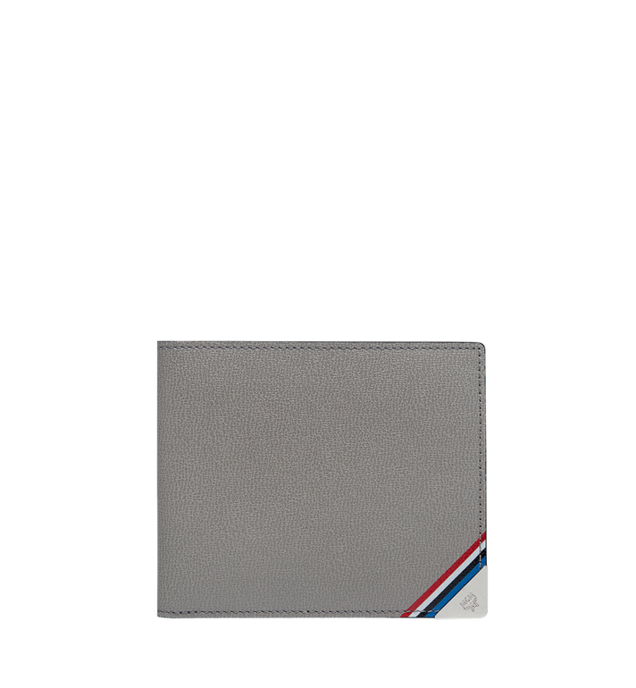 MCM Coburg Bifold Wallet in Textured Leather MXS8SCE08EZ001 AlternateView
