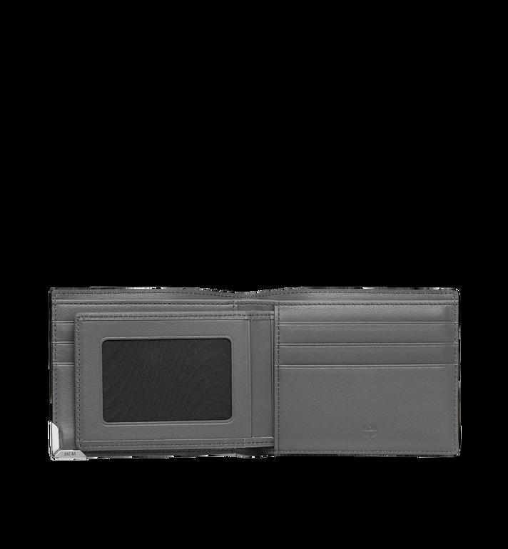 MCM Coburg Bifold Wallet in Textured Leather MXS8SCE08EZ001 AlternateView4