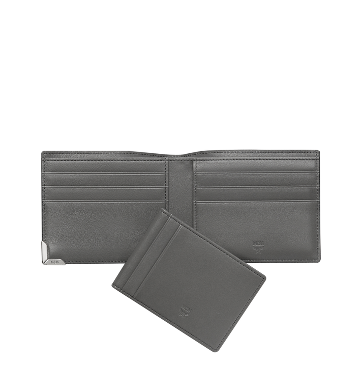 MCM Coburg Bifold Wallet in Textured Leather MXS8SCE08EZ001 AlternateView5