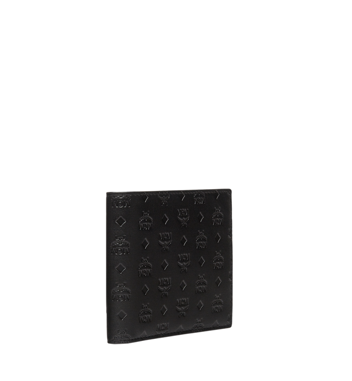 MCM Sigmund Bifold Wallet in Monogram Leather  MXS8SIE27BK001 Alternate View 2