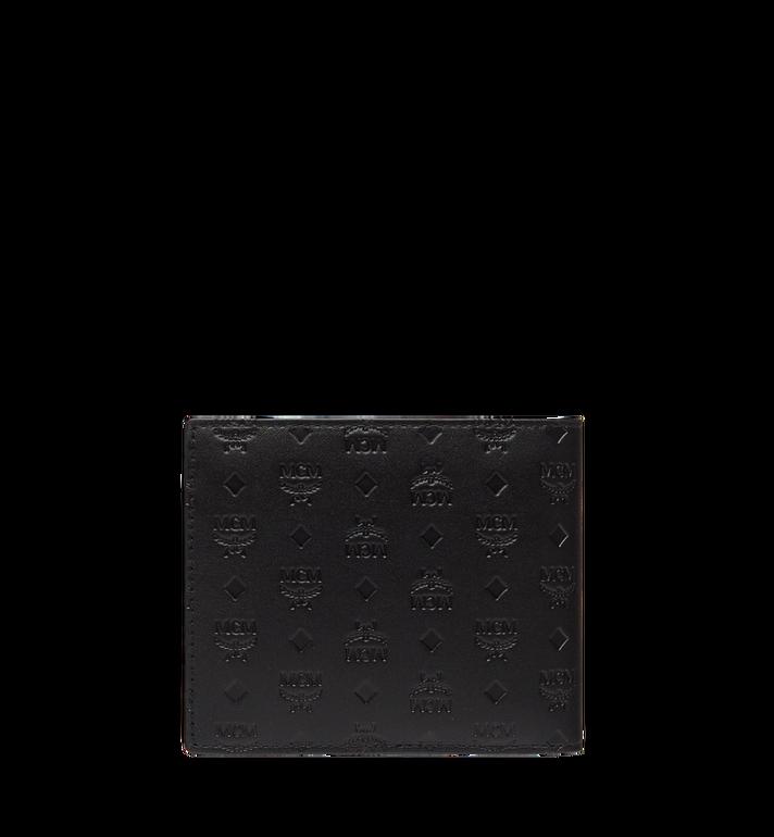 MCM Sigmund Bifold Wallet in Monogram Leather  MXS8SIE27BK001 Alternate View 3