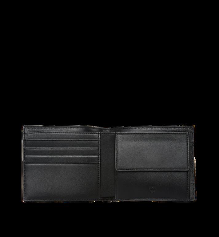 MCM Sigmund Bifold Wallet in Monogram Leather  MXS8SIE27BK001 Alternate View 4