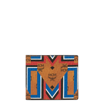 MCM Bifold Wallet in Gunta M Stripe Visetos MXS8SVE63CO001 AlternateView