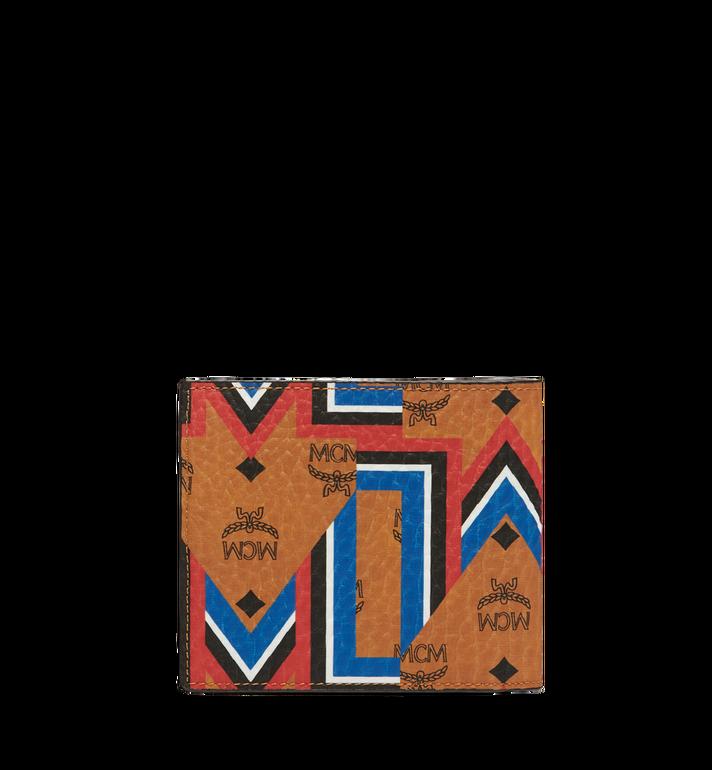 MCM Bifold Wallet in Gunta M Stripe Visetos MXS8SVE63CO001 AlternateView3