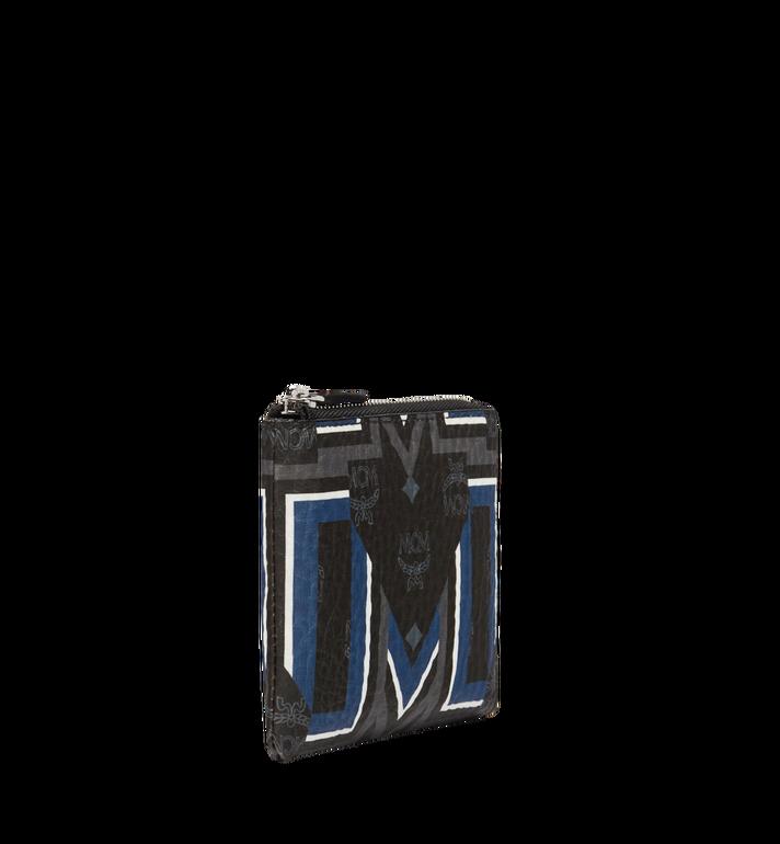 MCM Keycase in Gunta M Stripe Visetos MXS8SVE69BK001 AlternateView2