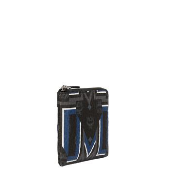 MCM 스타크 군타 M 비세토스 지퍼 동전 지갑 MXS8SVE69BK001 AlternateView2