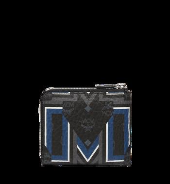 MCM 스타크 군타 M 비세토스 지퍼 동전 지갑 MXS8SVE69BK001 AlternateView3