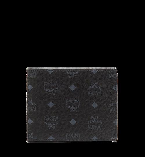 Bifold Wallet with Card Case in Visetos