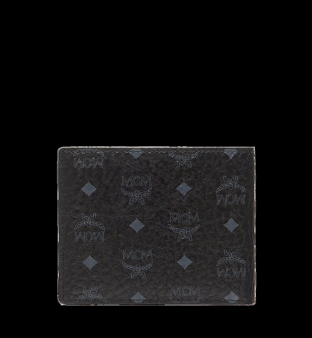 MCM Claus Bifold Wallet in Visetos Black MXS8SVI35BK001 Alternate View 2