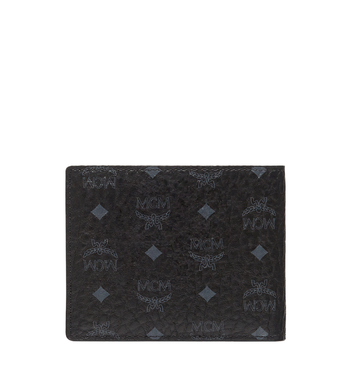 MCM Claus Bifold Wallet in Visetos MXS8SVI35BK001 AlternateView3