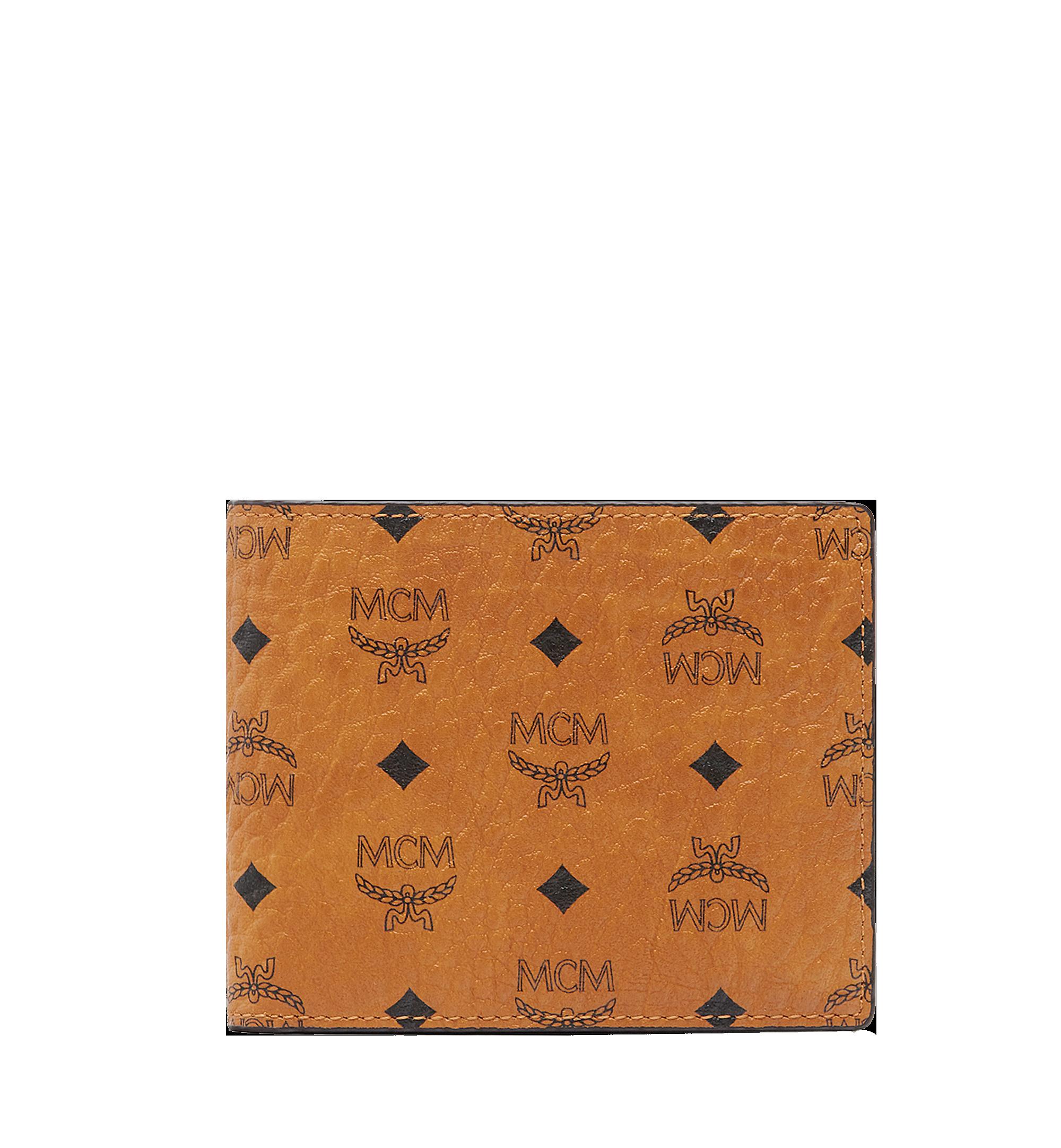 MCM 비세토스 오리지널 카드 케이스 반지갑 Cognac MXS8SVI35CO001 Alternate View 1