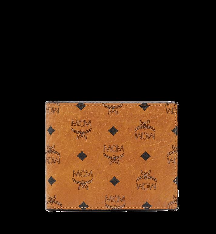 MCM Bifold Wallet with Card Case in Visetos Alternate View