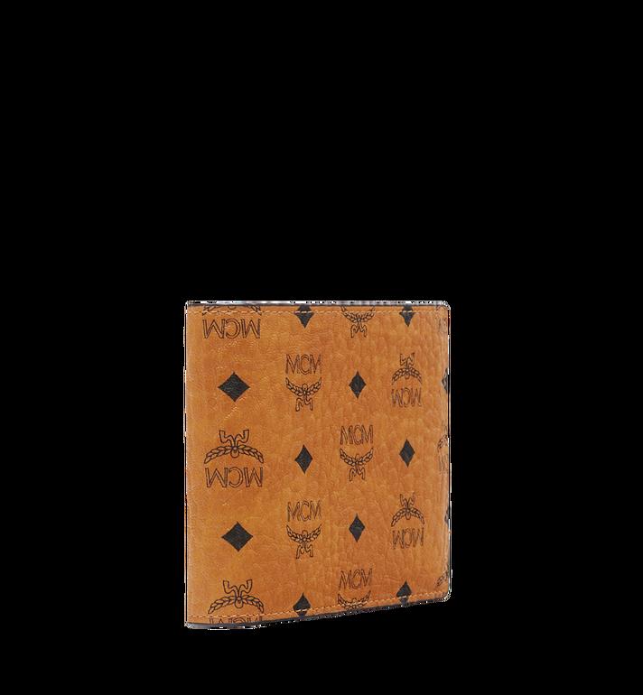 MCM Claus gefaltete Brieftasche in Visetos Cognac MXS8SVI35CO001 Alternate View 2