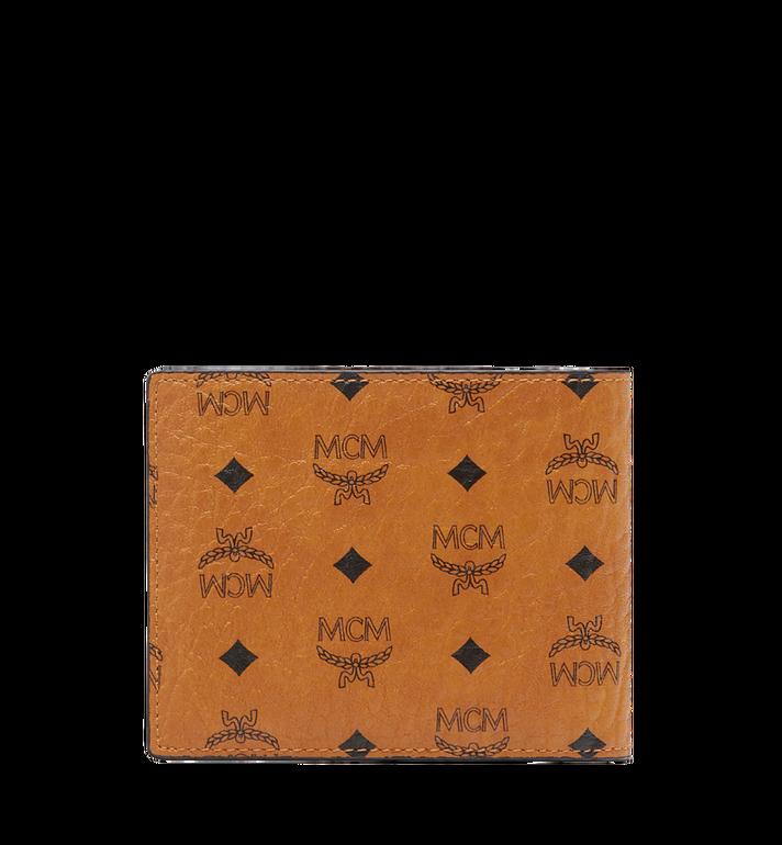 MCM Claus gefaltete Brieftasche in Visetos Cognac MXS8SVI35CO001 Alternate View 3