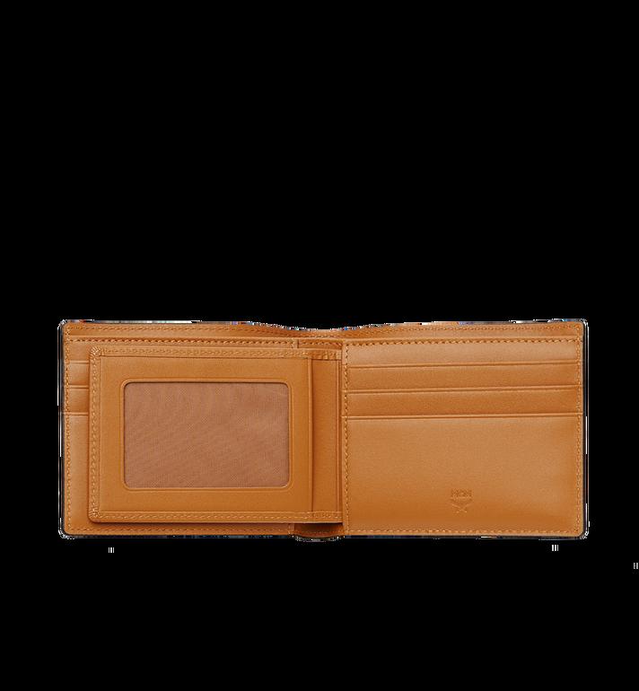 MCM Claus gefaltete Brieftasche in Visetos Cognac MXS8SVI35CO001 Alternate View 4