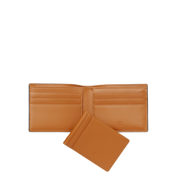 MCM Claus Bifold Wallet in Visetos MXS8SVI35CO001 AlternateView5