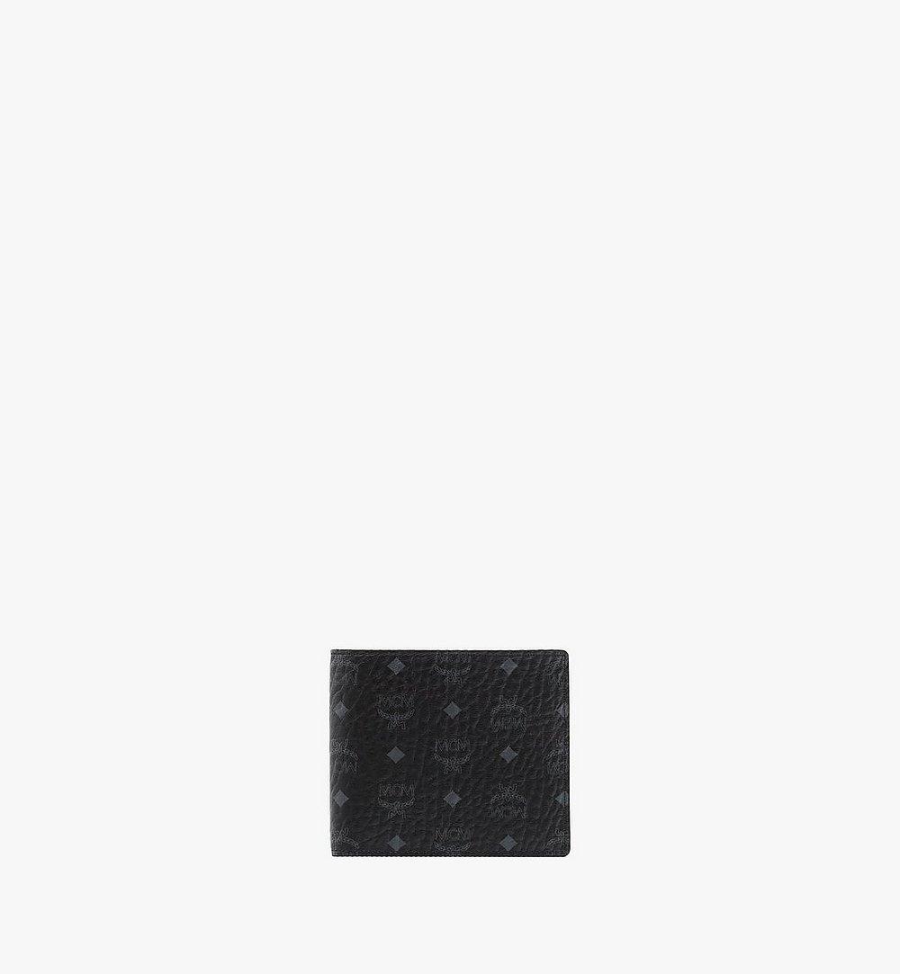 MCM Original gefaltete Brieftasche in Visetos Black MXS8SVI63BK001 Noch mehr sehen 1
