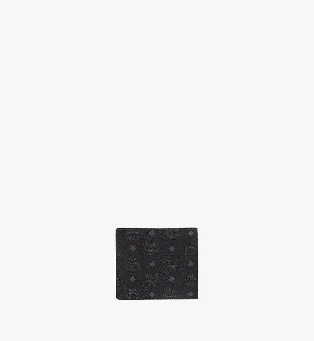 MCM Original gefaltete Brieftasche in Visetos Black MXS8SVI63BK001 Noch mehr sehen 2