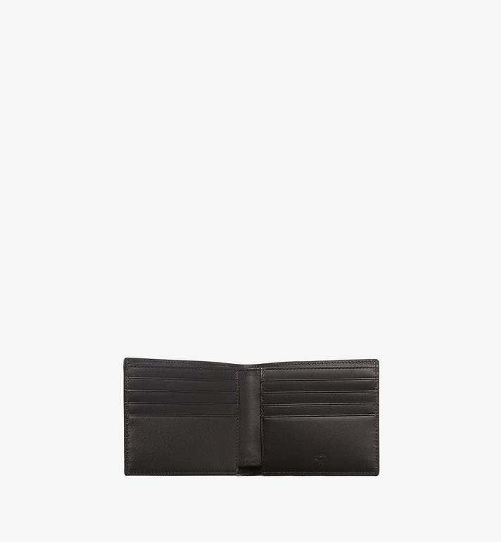 MCM Bifold Wallet in Visetos Original Black MXS8SVI63BK001 Alternate View 4