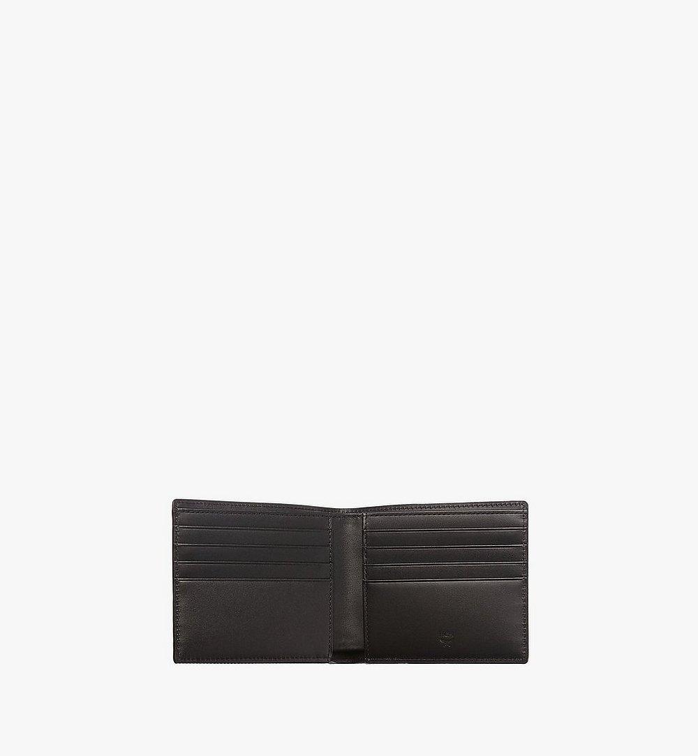 MCM Original gefaltete Brieftasche in Visetos Black MXS8SVI63BK001 Noch mehr sehen 3