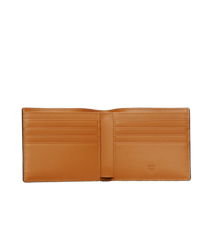 MCM Bifold Wallet in Visetos Original Cognac MXS8SVI63CO001 Alternate View 4
