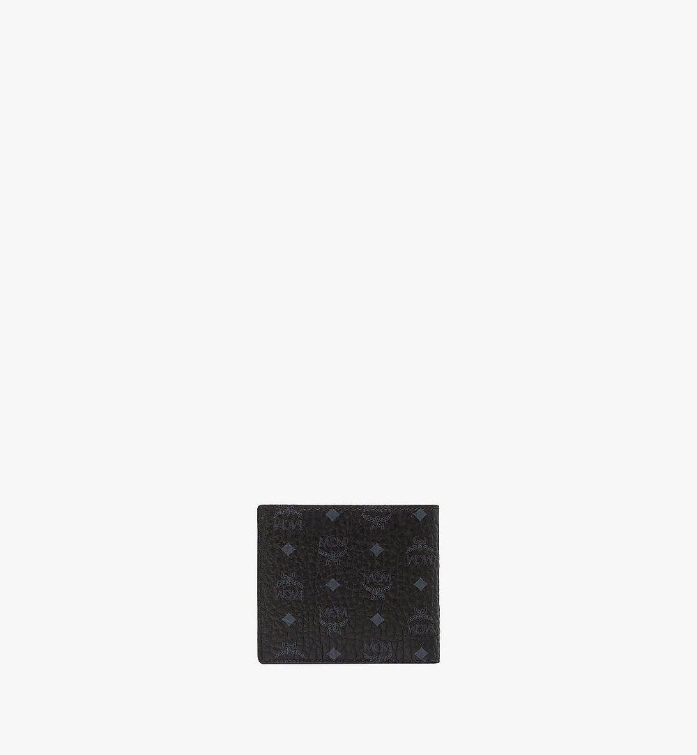 MCM Original gefaltete Brieftasche in Visetos Black MXS8SVI66BK001 Noch mehr sehen 2
