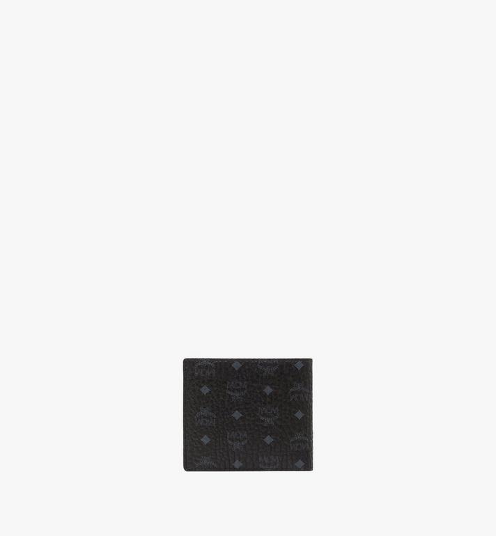 MCM Original gefaltete Brieftasche in Visetos Black MXS8SVI66BK001 Alternate View 3