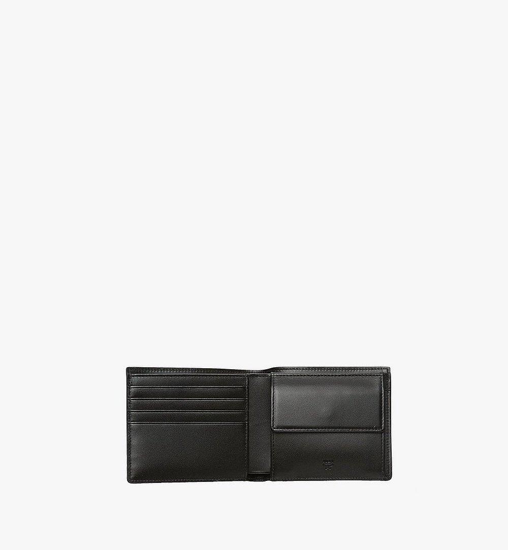 MCM Original gefaltete Brieftasche in Visetos Black MXS8SVI66BK001 Noch mehr sehen 3