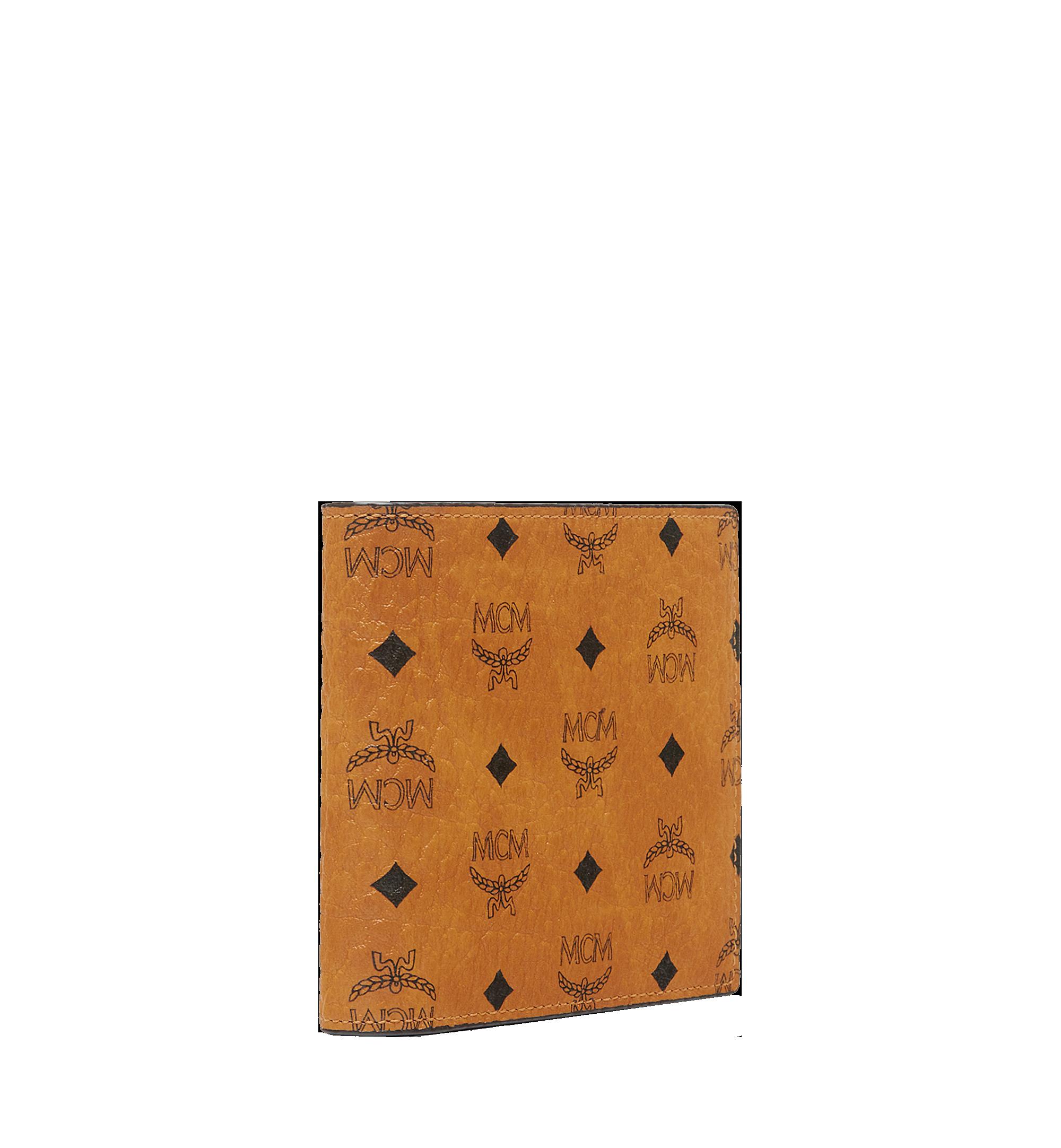 MCM Bifold Coin Wallet in Visetos Original Cognac MXS8SVI66CO001 Alternate View 2