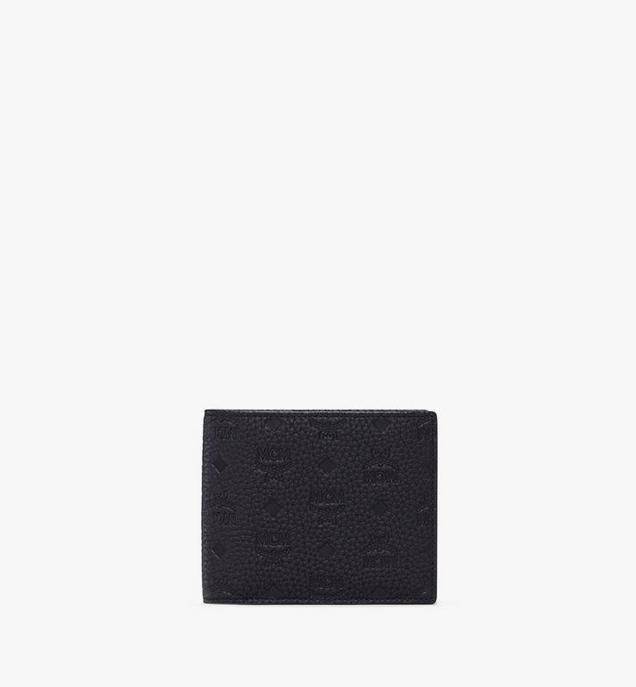 MCM Bifold Wallet in Tivitat Leather Alternate View
