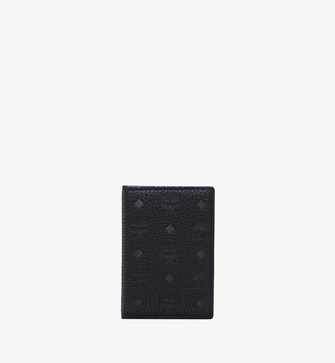 MCM 티비테트 레더 2단 미니 카드 지갑 Alternate View