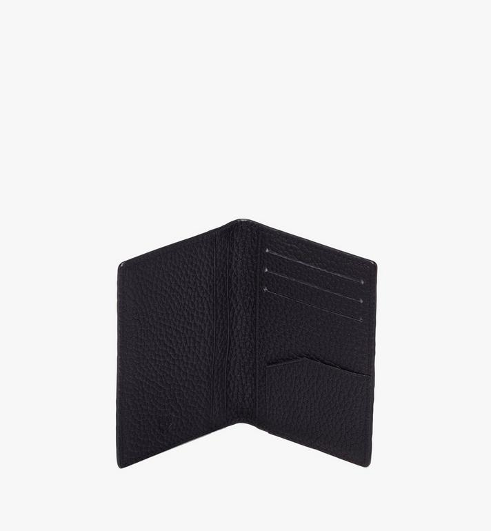 MCM Tivitat Two-Fold Card Wallet in Monogram Leather Black MXS9ABT25BK001 Alternate View 4