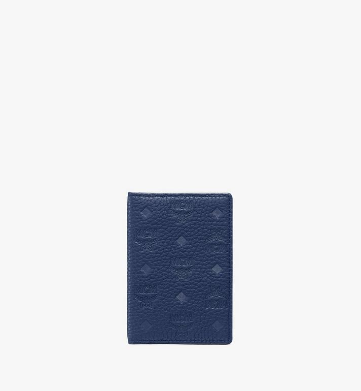 MCM Two-Fold Wallet in Tivitat Leather Alternate View