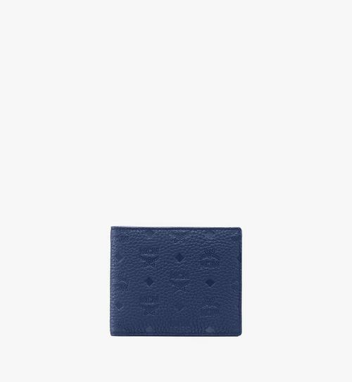 Gefaltete Brieftasche aus Tivitat-Leder
