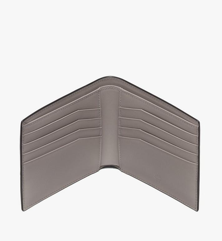 MCM Coburg Bifold Wallet in Crossgrain Leather Alternate View 3