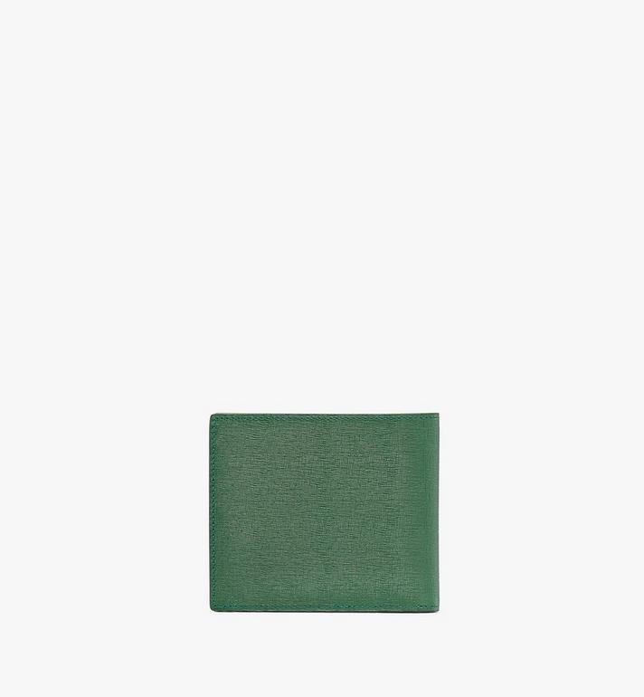 MCM Coburg Bifold Wallet in Crossgrain Leather Alternate View 2