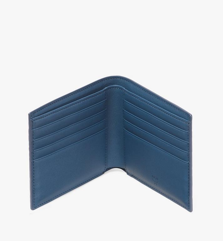 MCM Gefaltete Brieftasche in Visetos  MXS9AVI41VS001 Alternate View 3