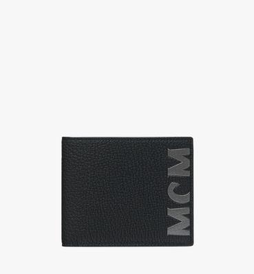 9f612eec634 Bifold Wallet in Logo Print Leather