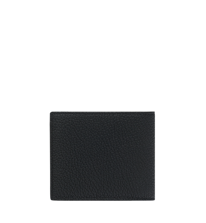 MCM Bifold Wallet in Logo Print Leather Alternate View 3